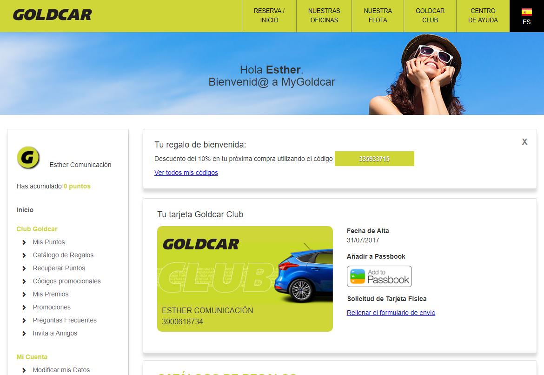 ¿Cómo hacerse miembro del Club Goldcar? (5)