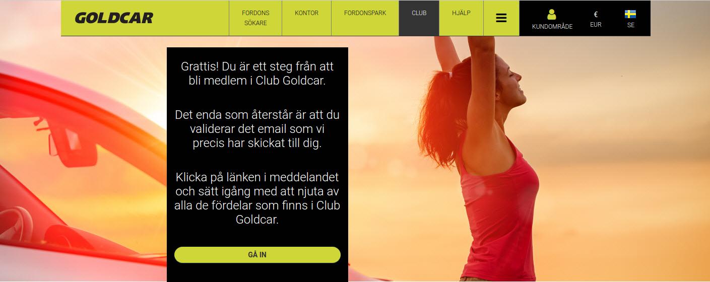 Hur blir man medlem i Club Goldcar?    (4)