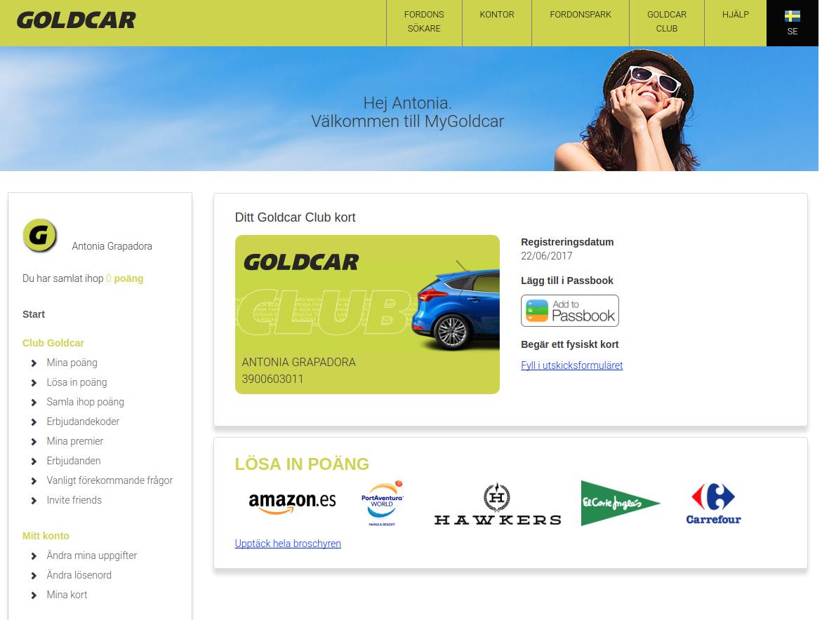 Hur blir man medlem i Club Goldcar?    (5)