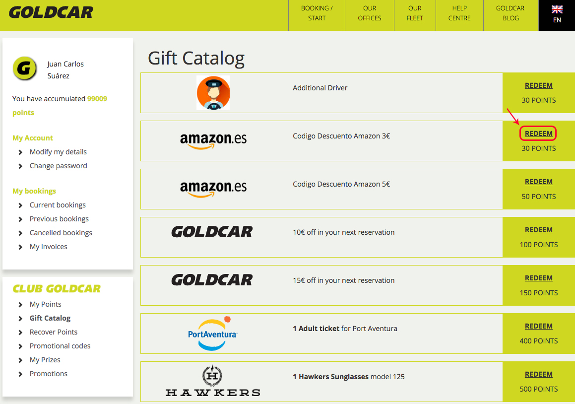How to redeem points for Amazon discounts?   (3)