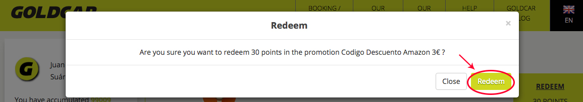 How to redeem points for Amazon discounts?   (4)
