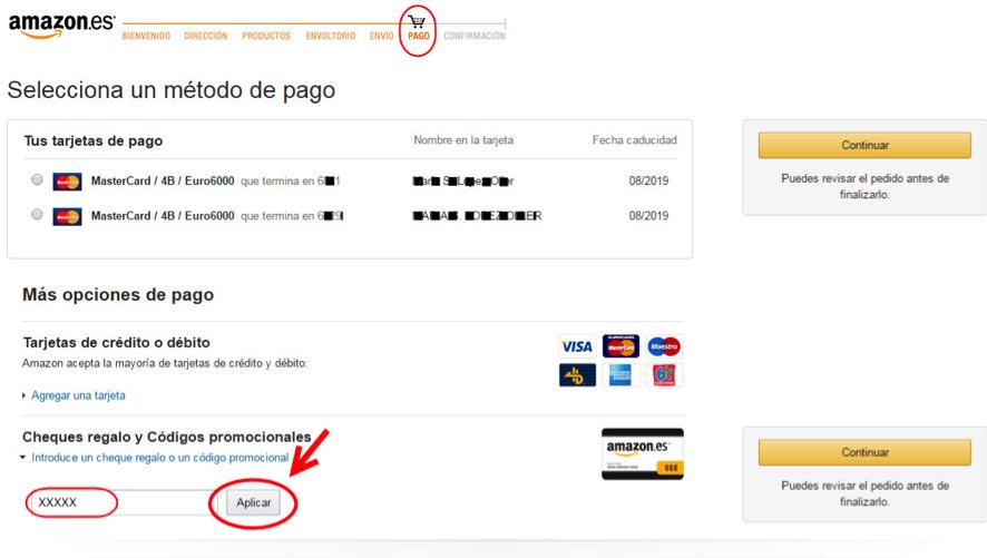 ¿Cómo canjeo puntos por descuentos de Amazon? (7)