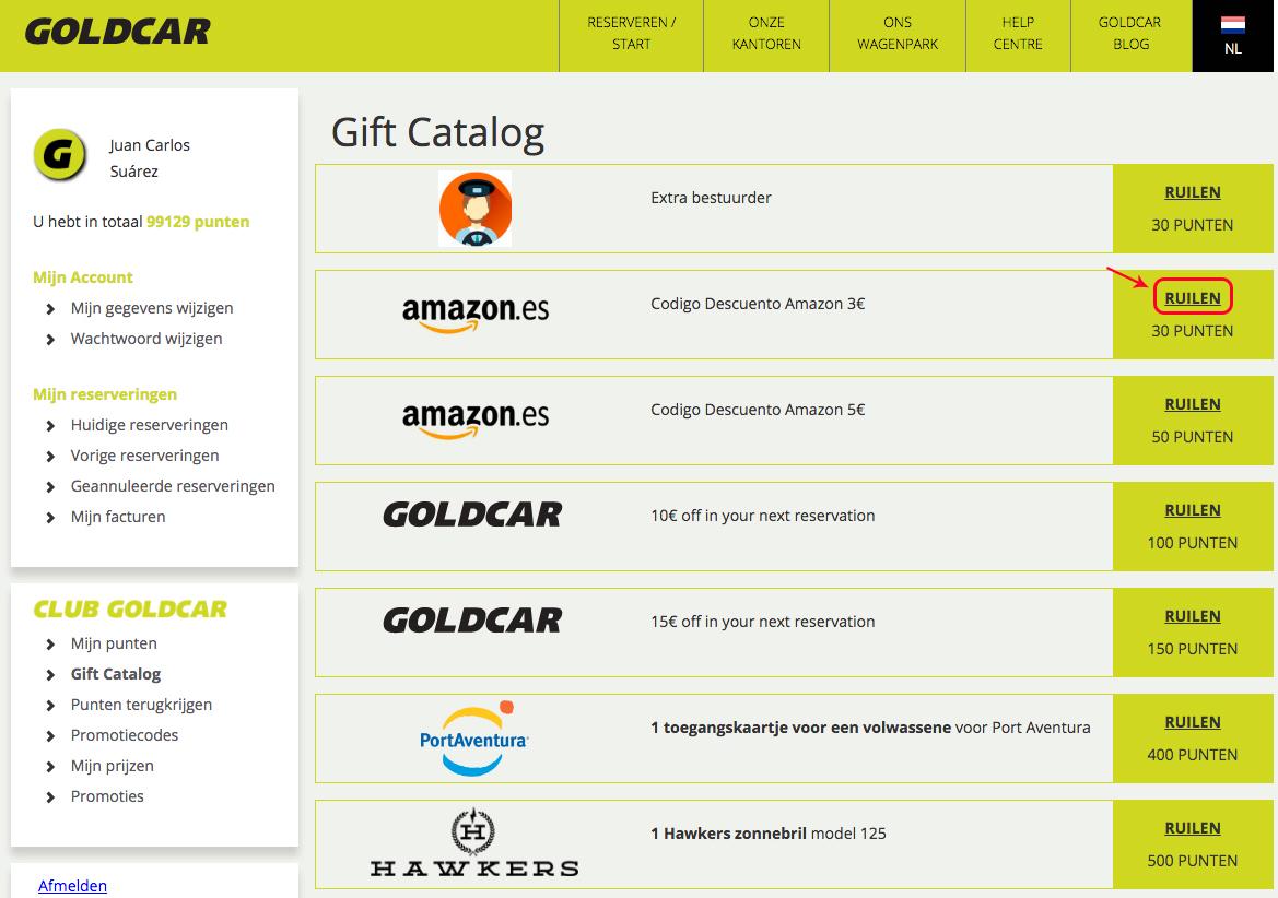 Punten ruilen voor kortingen op Amazon   (3)