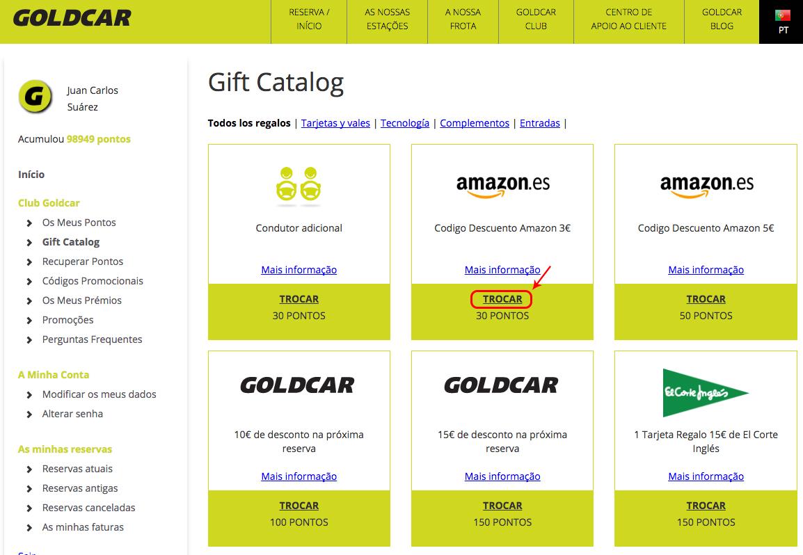Como trocar pontos por descontos na Amazon? (3)