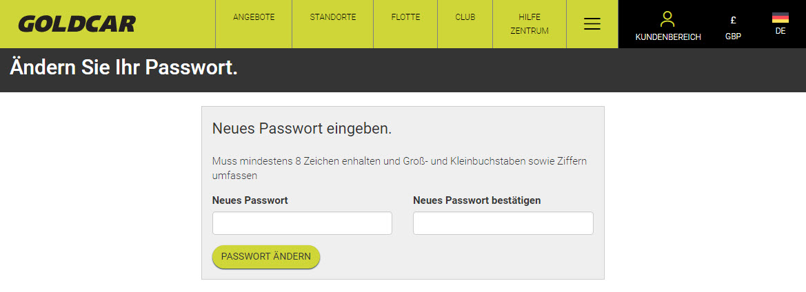 Ich habe mein passwort vergessen. Wie erlange ich es wieder?  (6)