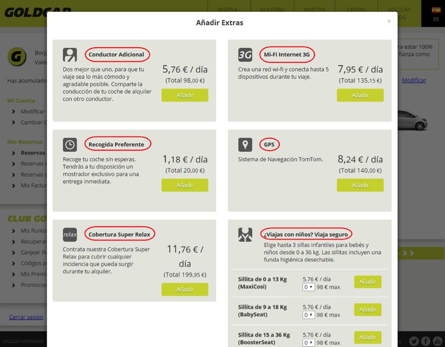 ¿Cómo modifico mi reserva? (Cambiar de fecha, cambiar de vehículo, añadir o eliminar extras...) (7)