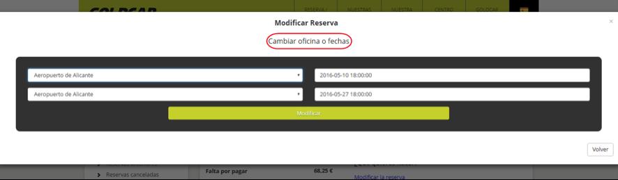 ¿Cómo modifico mi reserva? (Cambiar de fecha, cambiar de vehículo, añadir o eliminar extras...) (5)