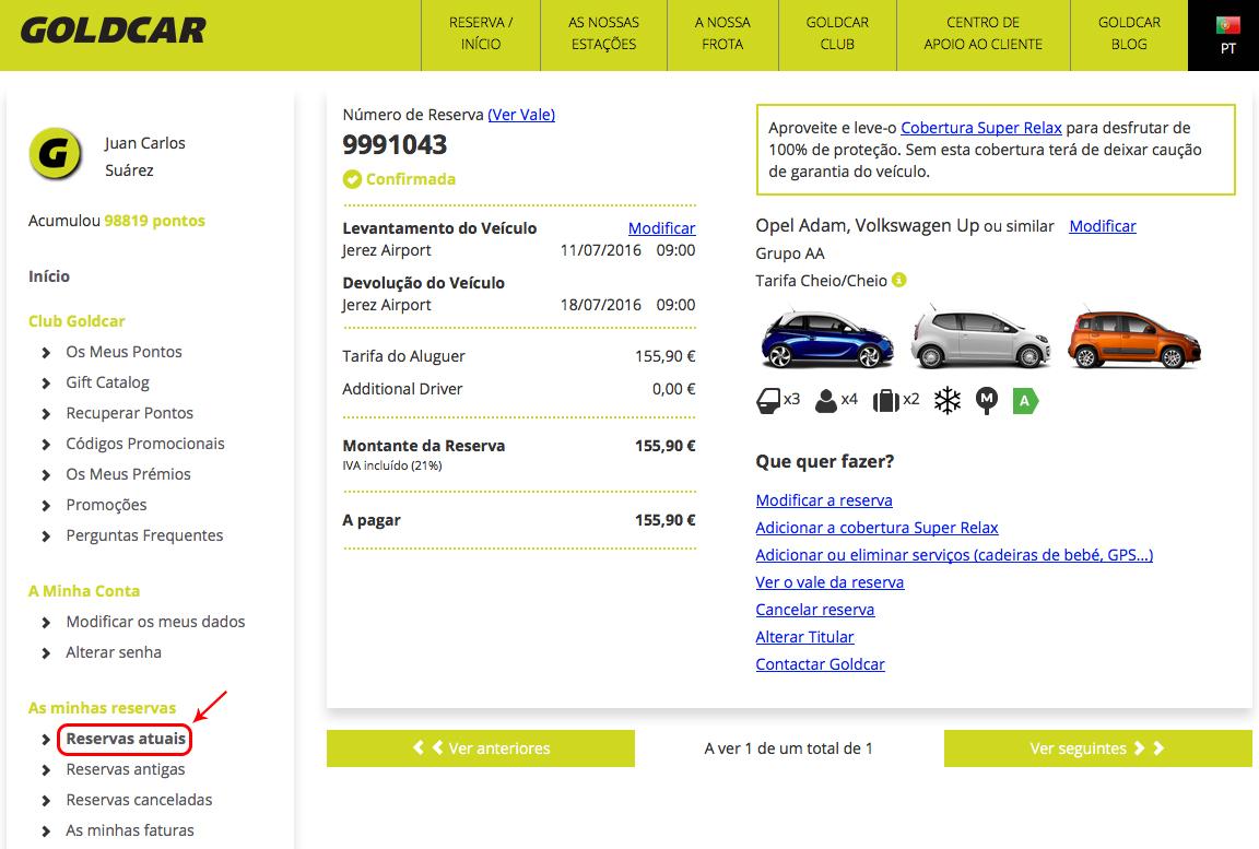 Como altero a minha reserva? (Mudar a data, mudar de veículo, adicionar ou remover extras...) (2)