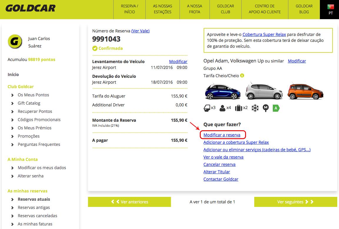 Como altero a minha reserva? (Mudar a data, mudar de veículo, adicionar ou remover extras...) (3)