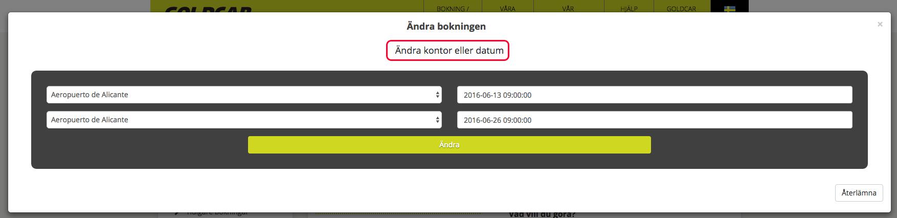 Hur kan jag ändra på min bokning? (Ändra datum, ändra fordon, lägg till eller ta bort tillbehör…) (5)