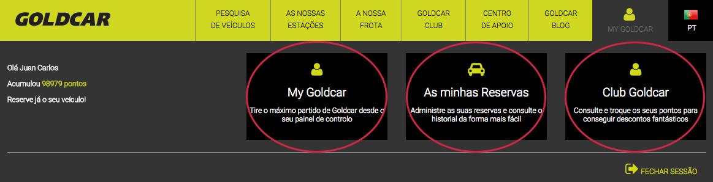 Como entrar para o Clube Goldcar? (Uma vez que já é um membro) (3)
