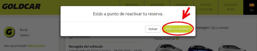 ¿Cómo reactivo una reserva cancelada? (4)