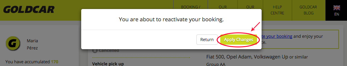 How do I reactivate a cancelled booking? (4)