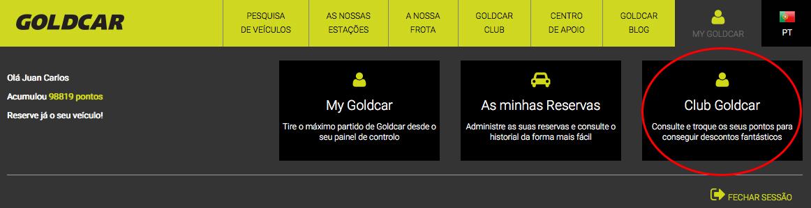 Como cancelar a inscrição no Clube Goldcar?