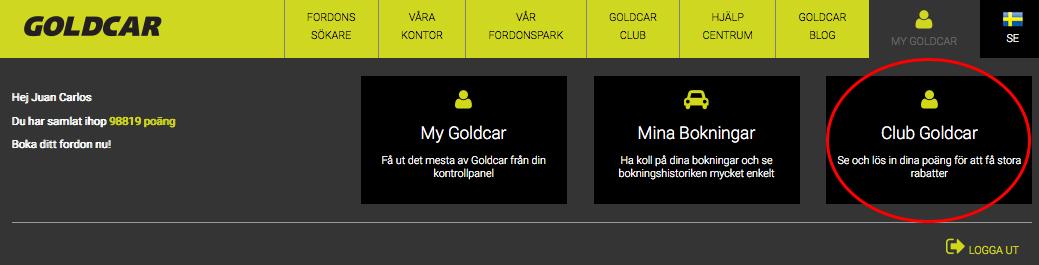 Hur avanmäler man sig från Club Goldcar?