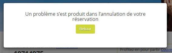 Comment puis-je annuler ma réservation ? (6)